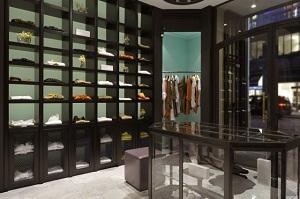 Walter Voulaz Boutique via Manzoni Milano