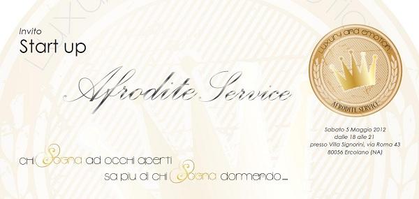 Invito party Afrodite - Ercolano (NA)