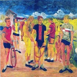 Aligi Sassu_1931_I_ciclisti