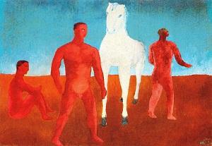 Aligi Sassu_1931_Il_cavallo_bianco
