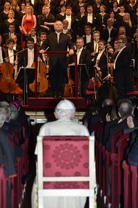 Barenboim e il Papa alla Scala - 1 giugno 2012