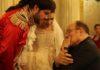 CENERENTOLA - Il regista Carlo Verdone Edgardo Rocha il Principe e Lena Belkina Cenerentola durante le prove - Rada Film Tullio De Orsola 35