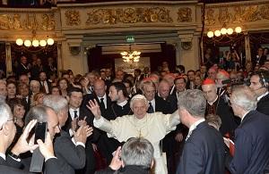 Papa alla Scala - 1 giugno 2012