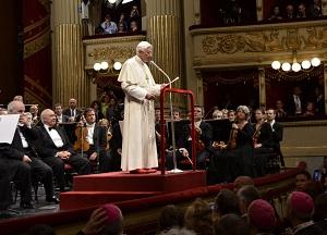 Papa al Teatro alla Scala - concerto 1 giugno 2012