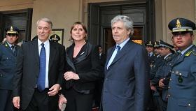 Il sovrintendente alla Scala e Stephane Lissner e il sindaco Giuliano Pisapia