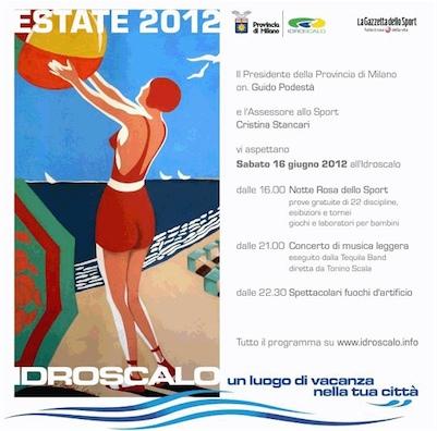 idroscalo estate 2012