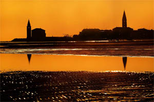 tramonto-2012 Chiesa-Madonna-dellAngelo-Duomo-di-Caorle