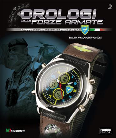 Copertina Orologio della-Brigata Folgore - 2a uscita