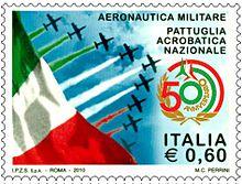 Frecce Tricolori - francobollo