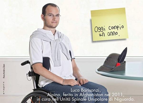 foto di militare ferito in afghanistan nel 2011