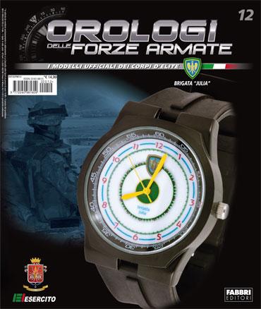 OROLOGI DELLE FORZE ARMATE - 12a uscita - BRIGATA JULIA