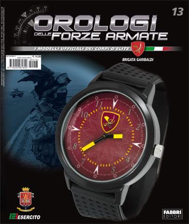 OROLOGI DELLE FORZE ARMATE - 13a uscita - BRIGATA GARIBALDI