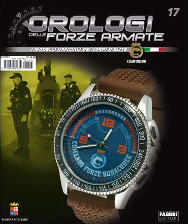 Orologi delle Forze Armate - 17a uscita: COMFORSUB