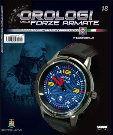 Orologi delle Forze Armate - 18a uscita - 17° STORMO INCURSORI