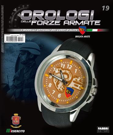 19a uscita - Orologi delle Forze Armate - BRIGATA ARIETE