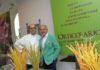 Moritz Mantero, Presidente di Orticolario con lo chef Vittorio Tarantola
