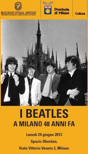 Beatles a Milano