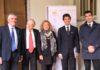 Al centro Cristiana Muscardini e a fianco Andrea Mascaretti e Amos Nannini