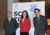 La Presidente della Fondazione MUBA, Elena Dondina con gli Assessori del Comune di Milano, Filippo Del Corno e Francesco Cappelli