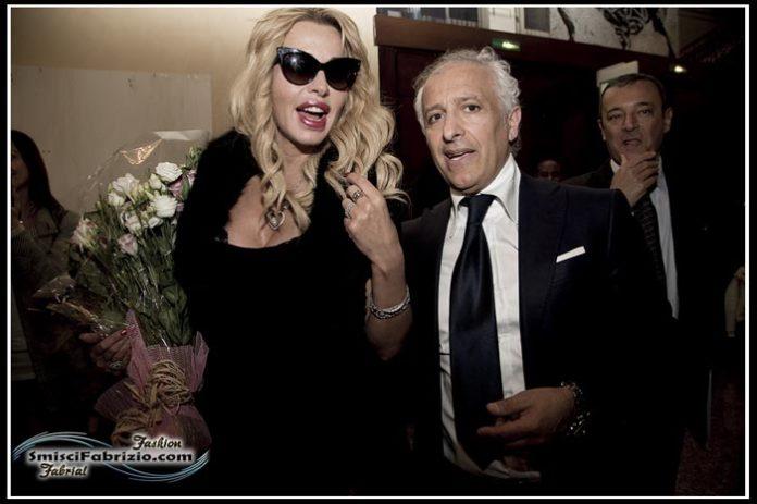 Valeria Marini con Paolo Urciuoli
