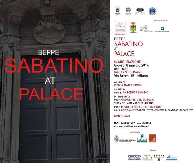 Beppe Sabatino invito online