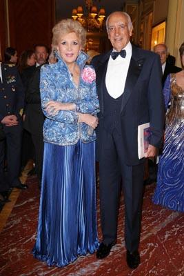 La Presidente di ASM Marinella di Capua con il marito Umberto Di Capua