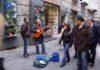 Primavera 2009 NAPOLI Posteggiatori a Portalba foto Casale