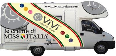 Camper Miss Italia Vivi Natural Care