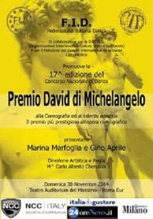 PREMIO DAVID MICHELANGELO