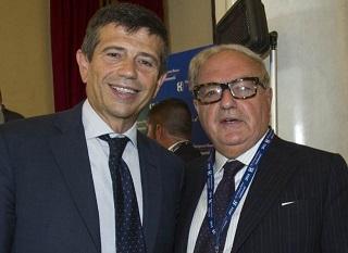 Achille Colombo Clerici con il Ministro Maurizio Lupi