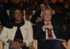 Gianluca Galletti e la commissaria Expo di Haiti Gladys Mexil Guiteau