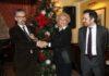 Il Presidente di ASM Marinella Di Capua con il General Manager del Savini Marco Tridente e il Responsabile della Comunicazione Federico Aldo Nobile