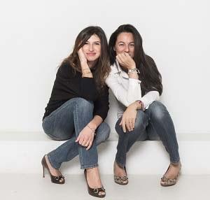 Ileana Zanini e Letizia Gorla - fondatrici di Tacchi & Biberon