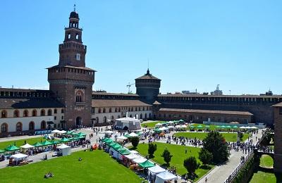 VIA LATTEA Castello Sforzesco Foto di Enrico Procentese2014 FAI-Fondo Ambiente Italiano