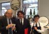 Presidente TDM Claudio De Albertis con Stefano Zanette presidente Prosecco Doc r