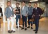 ELEVENTY-da sinistra Marco Baldassari CEO e fondatore- modelli collezione SS16 e Paolo Zuntini Ceo socio fondatore r