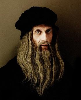Finazzer Flory - Leonardo da Vinci - foto di Giovanni Gastel