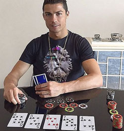 Ronaldo Poker 250