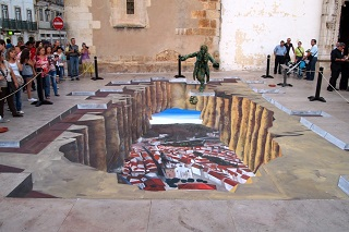 3D street painting r