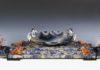 01. FAI Villa Necchi Campiglio Alfredo Ravasco Centrotavola con pesci 1930-35 circa lapislazzuli agata e corallo Foto Manusardi Paolo