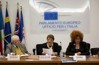 Parlamento Europeo - Sala delle Bandiere - nascita del Premio Europa e Cultura