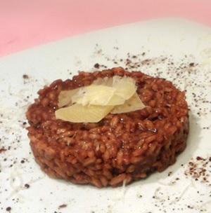 risotto al cacao