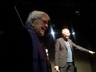 Ettore Scola e Renato Giordano r
