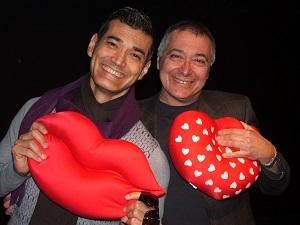 il primo bacio Andrea De la Roche e Renato Giordano Copia