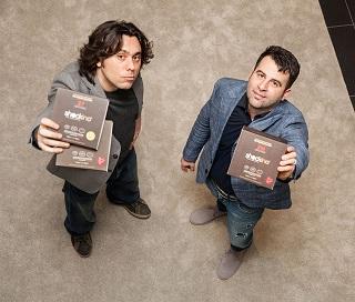10 Gabriele Cossu e Piergiorgio Carozza Officina Quack credits Carlo Fico