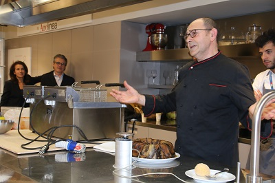 Lo Chef Salvatore Nicastro