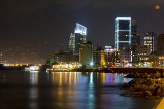 Beirut - Corniche di notte 24