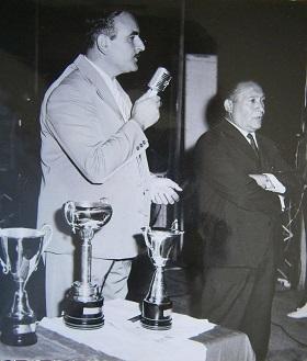 Emanuele Giacoia e il sindaco di Gioiosa Francesco Logozzo