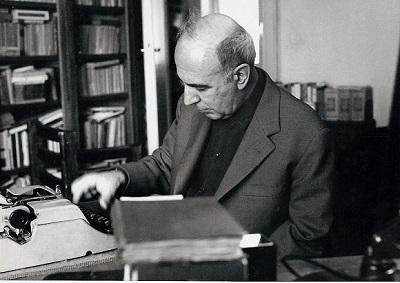 Giuseppe Dessì - Roma 1972 nello studio