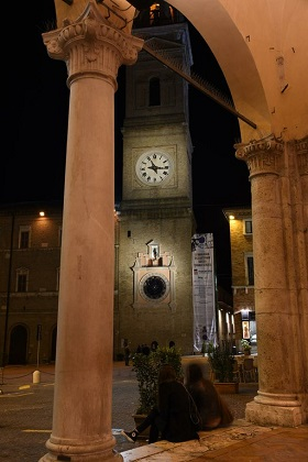 Orologio torre civica Macerata